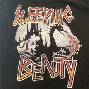 Sleeping Beauty Metal Theme T-Shirt